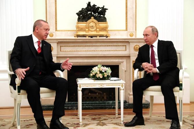 Erdoğan ve Putin'den ortak basın açıklaması