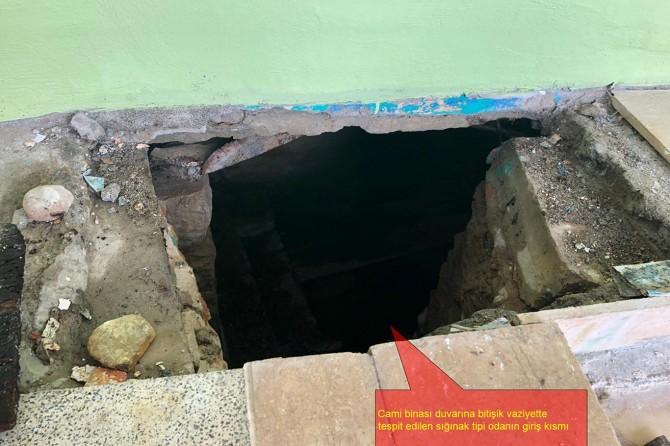 PKK'liler Lice'de caminin altını sığınak yapmışlar