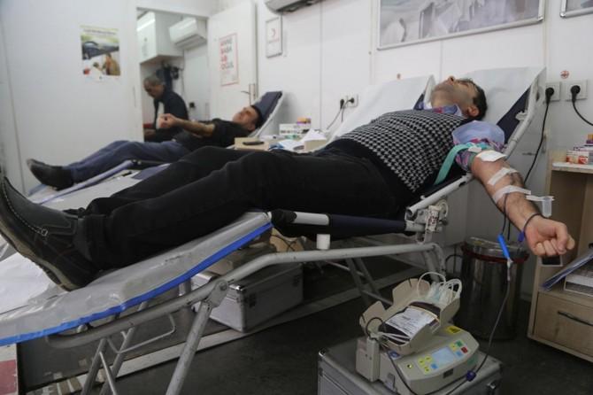 Silopililer düzenli kan bağışçısı konumuna gelmiş durumda