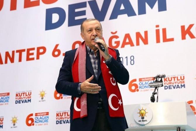Cumhurbaşkanı Erdoğan Gaziantep'e geliyor