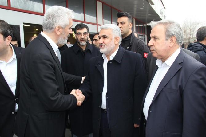 Yapıcıoğlu'ndan Ensarioğlu ailesine taziye ziyareti