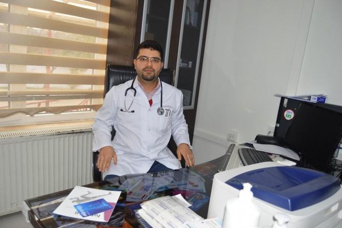 Sason'da dahiliye uzmanı Dr. Ammar Acuz göreve başladı