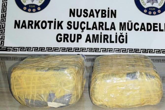 Nusaybin'de uyuşturucu operasyonu: 5 kişi tutuklandı