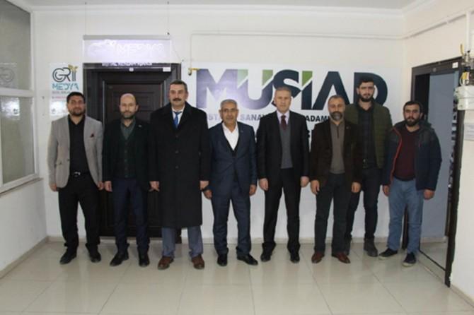 Van'da İŞKUR ve SGK destekleri bilgilendirme sunumu yapıldı
