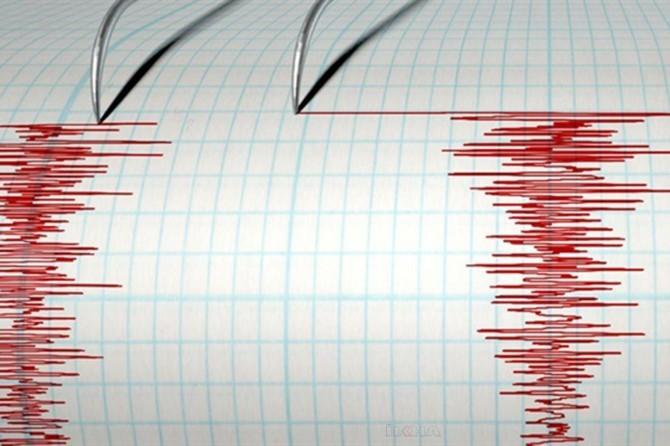 Bodrum'da 3.2 şiddetinde deprem