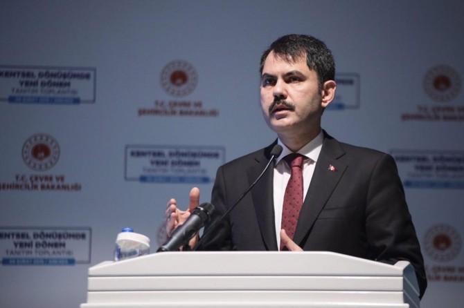 Bakan Kurum kentsel dönüşümün yeni dönemini açıkladı