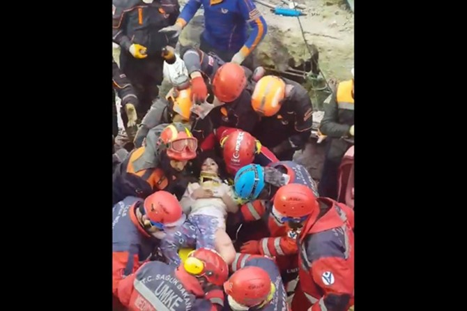 Child rescued alive from Istanbul building collapse