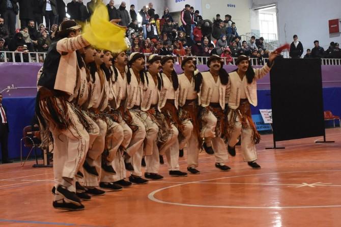 Muş'ta halk oyunları müsabakası