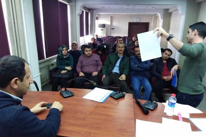Siirt'te iyi tarım uygulamaları bilgilendirme toplantısı gerçekleştirildi