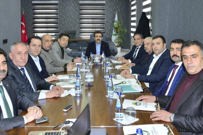 Diyarbakır'da organize sanayi bölgesi parsel dağıtım toplantısı yapıldı