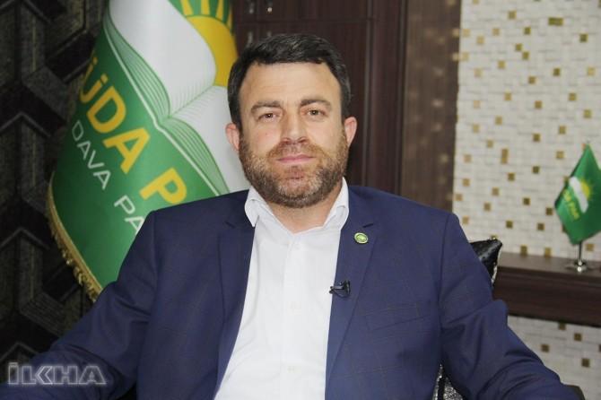 HÜDA PAR Genel Başkan Yardımcısı Yavuz'dan dua talebi