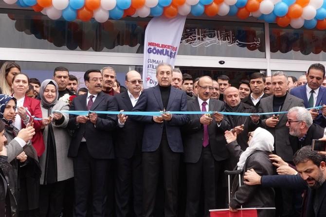AK Parti ilçe seçim bürosu açılışı yapıldı