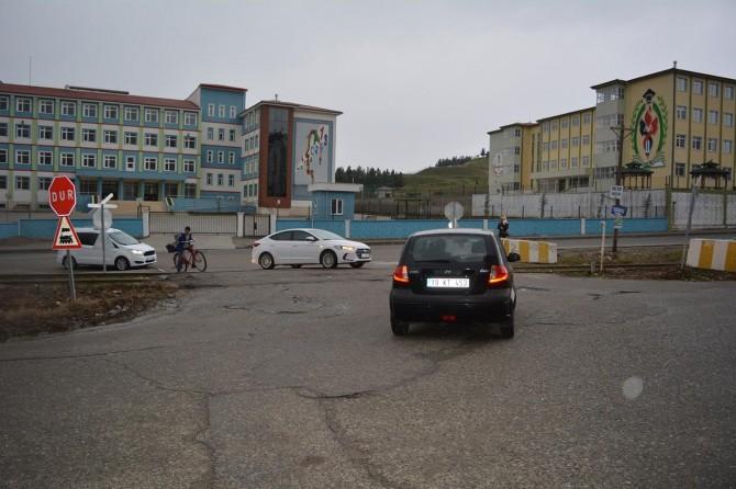 Mağduriyet yaşatan beton bariyerler kaldırıldı