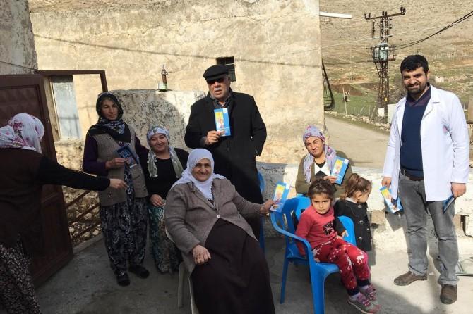 """Mardin'de """"Dünya Kanser Günü"""" etkinlikleri"""