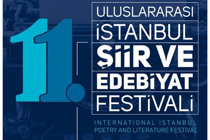 11. Uluslararası İstanbul Şiir ve Edebiyat Festivali düzenlenecek