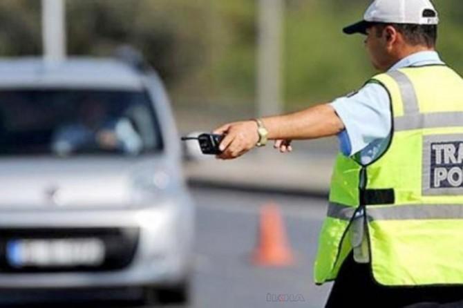 Hatay'da 2 bin 750 sürücüye ceza