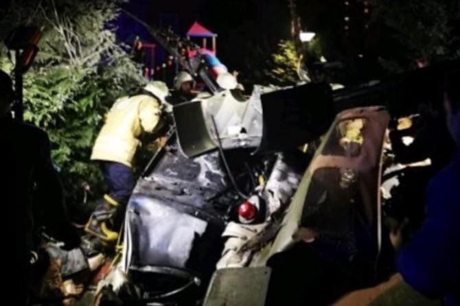 Çekmeköy'de düşen helikopterdeki 4 asker hayatını kaybetti