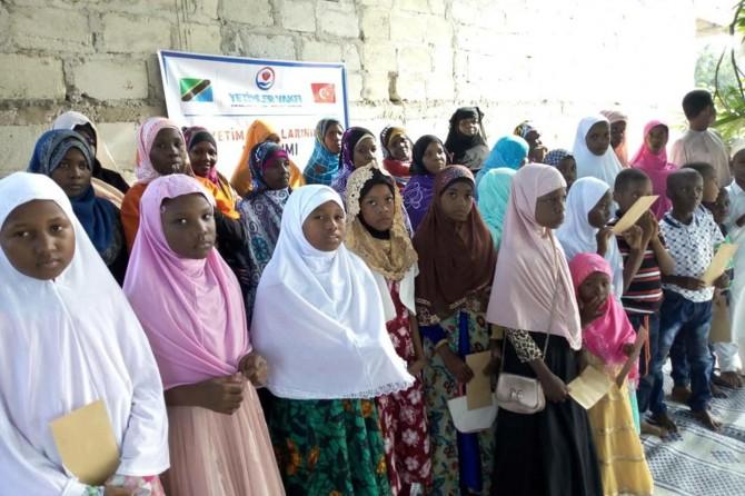 Yetimler Vakfı Tanzanyalı yetimleri unutmadı