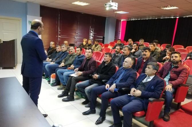 17 ilçe üreticileri için TARSİM eğitim toplantısı düzenledi
