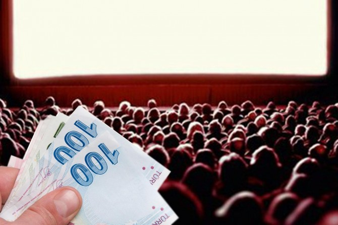 Sinema sektörüne 5 milyon lira destek verildi