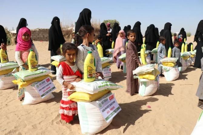 Umut Kervanı Yemen'de yardımlarını sürdürüyor