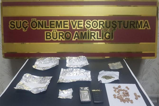 Gaziantep'te uyuşturucuya bir tutuklama