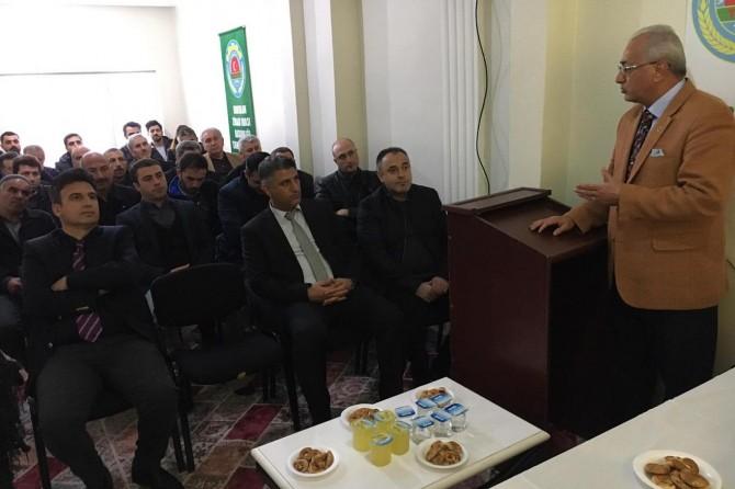 Siirt'te hibe desteklemeleri ve bilgilendirme toplantısı yapıldı