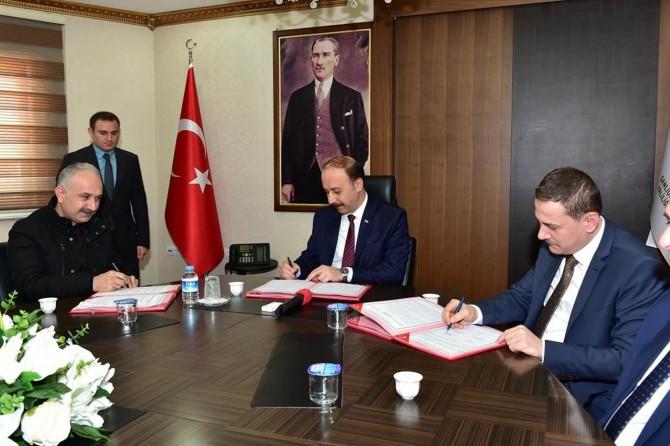 Viranşehir OSB'de ilk tekstil atölyesi için protokol imzalandı