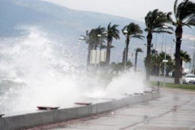 Hatay'ın batı ilçeleri ile Osmaniye'de fırtına bekleniyor