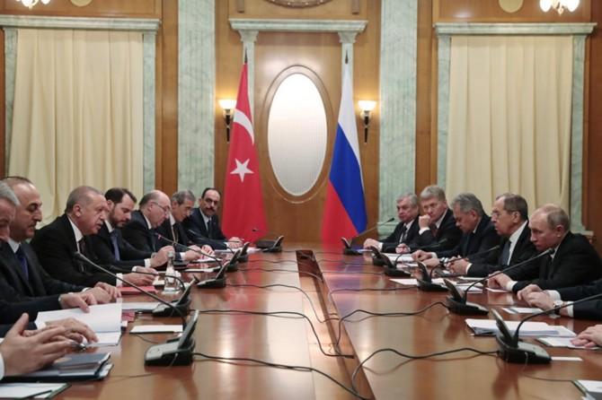President Erdoğan in Russia