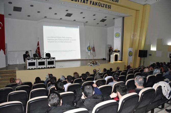 Harran Üniversitesi sigara, alkol ve madde bağımlılığı paneli düzenlendi