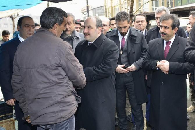 Sanayi ve Ticaret Bakanı Diyarbakır'da