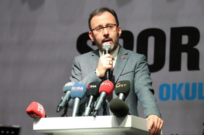 Gaziantep'e 127 milyon TL'lik spor yatırımı yapacağız