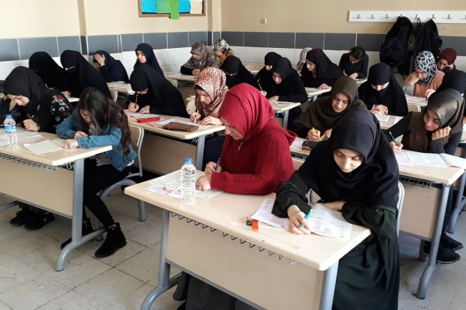 Adana'da Siyer Sınavına binlerce kişi katıldı