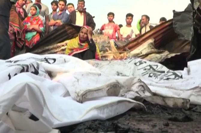 Li Bangledeşê şewat: 8 mirî 50 birîndar