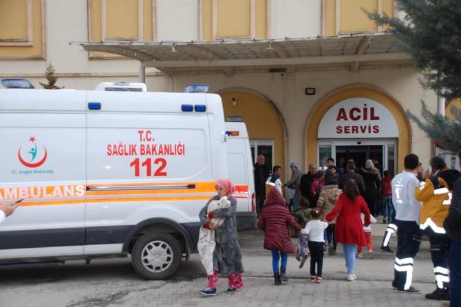 Mardin'de kaza: 3 ölü 14 yaralı
