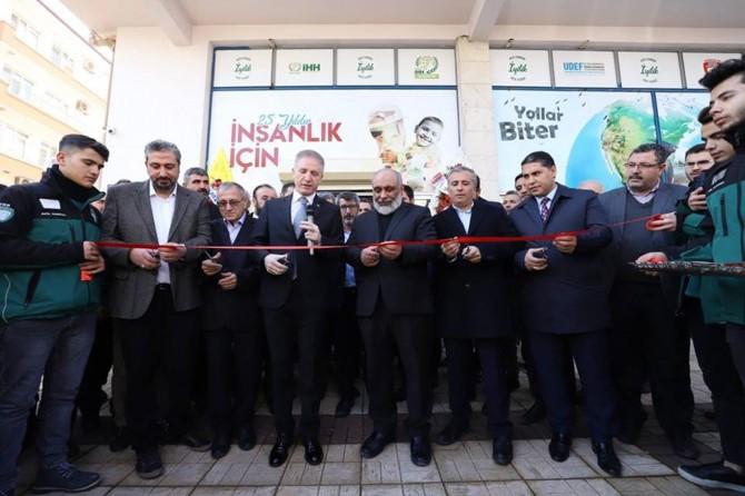 İHH Gaziantep Şubesinin yeni hizmet binası açıldı