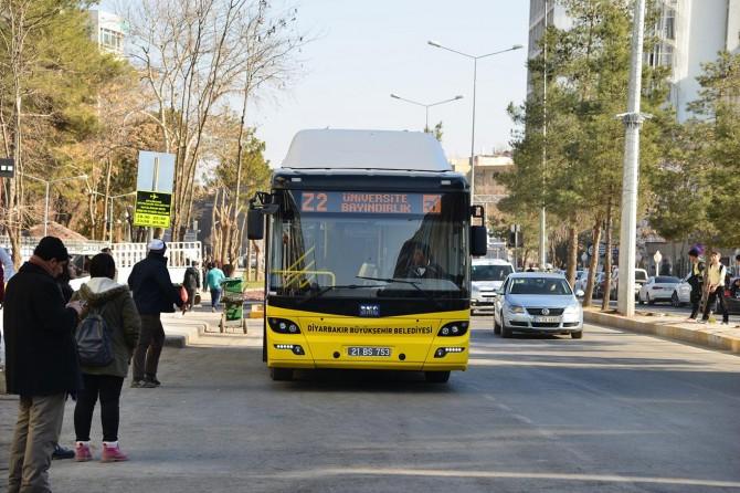 Diyarbakır'da yeni otobüs güzergâhı oluşturuldu