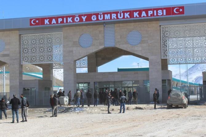 Kapıköy Gümrük Kapısı yeniden açıldı