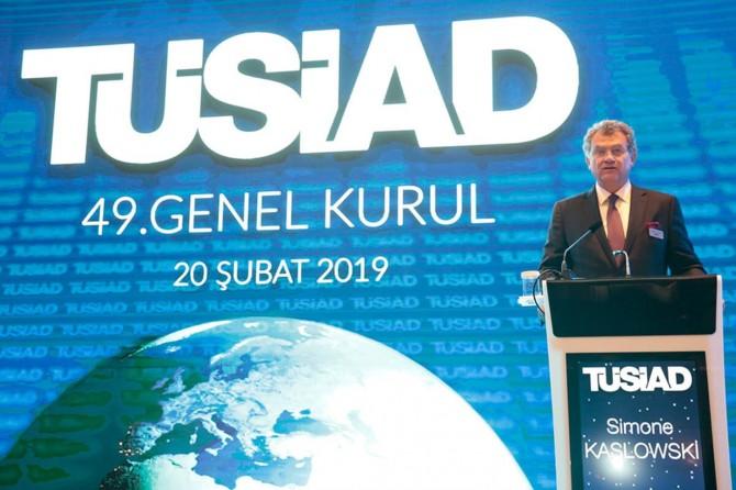 TÜSİAD'ın yeni başkanı İtalyan asıllı Simone Kaslowski oldu