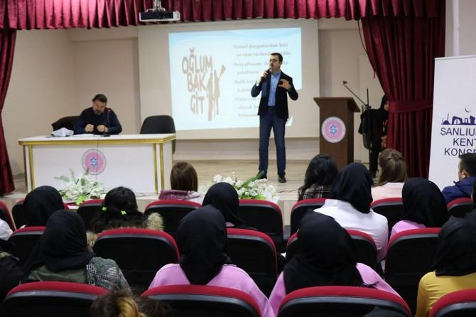 Şanlıurfa'da öğrencilere öfke kontrolü eğitimi