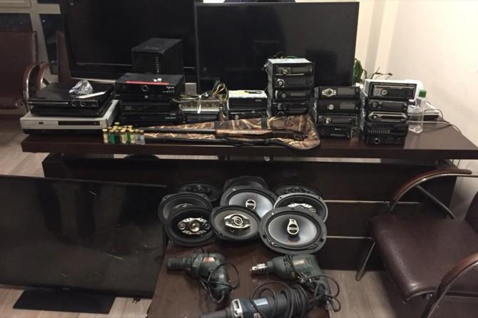 Gaziantep'te 6 şüpheli hırsızlıktan tutuklandı