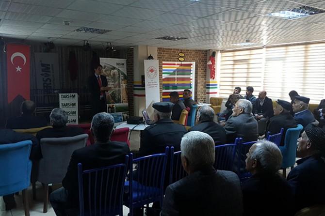 Siirt'te Tarım Sigortaları Bilgilendirme toplantıları yapıldı