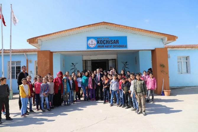 Mardin Milli Eğitim Müdürü Sarı'dan okul ziyaretleri