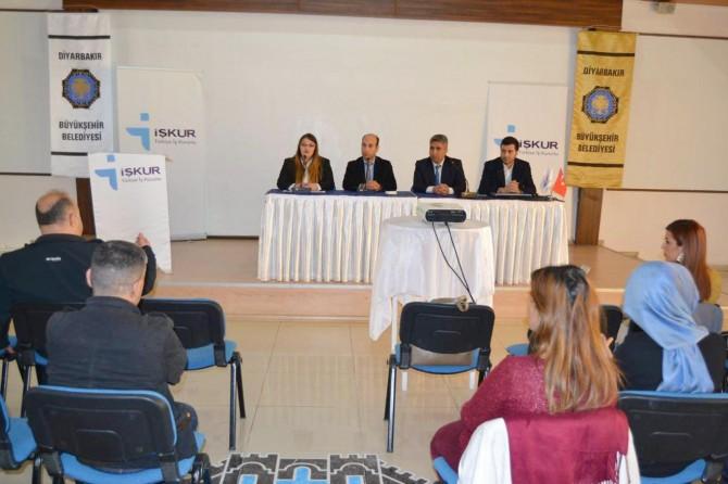Diyarbakır'da İŞKUR'un engellilere yönelik hizmetleri anlatıldı