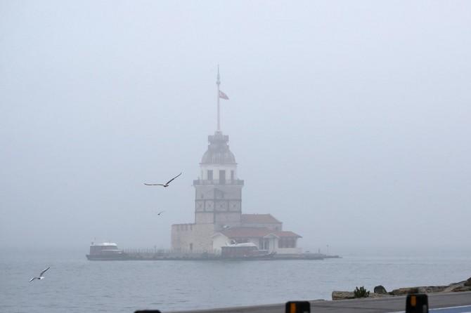 İstanbul'da arabalı vapur seferleri iptal edildi