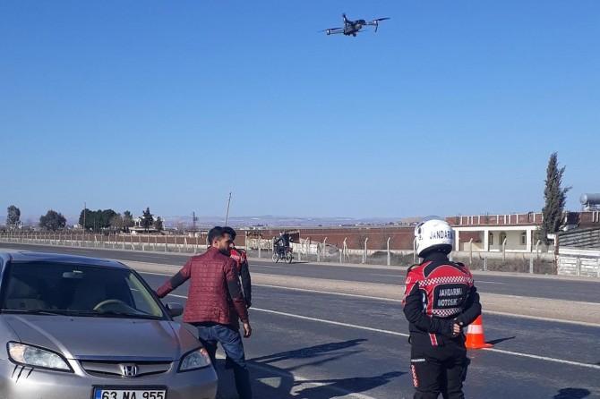 Jandarma trafik ihlallerini havadan denetleyecek