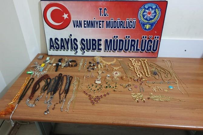 Van'da bir milyon TL'lik kasa hırsızlığı