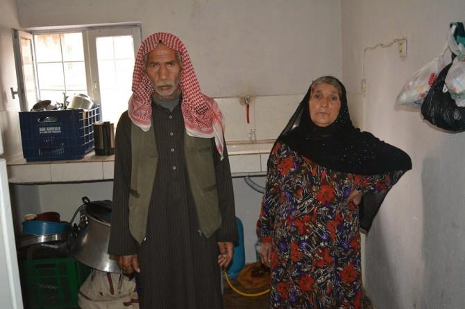 Savaştan kaçan aile 7 yıldır yokluk içinde yaşıyor