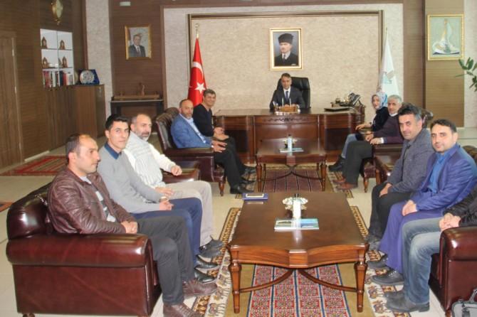 Bitlis Gazeteciler Cemiyetinden Vali Oktay Çağatay'a ziyaret
